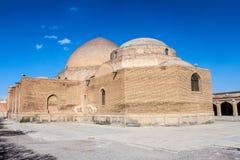 Mezquita azul en Tabriz fotos de archivo libres de regalías