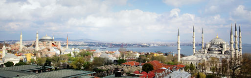 Mezquita azul Estambul Imágenes de archivo libres de regalías
