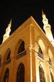 Mezquita Beirut Líbano de Mohammad Al-Amin Foto de archivo libre de regalías