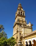 Mezquita bell tower, Cordoba, Spain. Mezquita (Mosque)/Cathedral bell tower, Cordoba, Cordoba Province, Andalusia, Spain, Western Europe Royalty Free Stock Photos