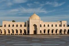 Mezquita blanca Imágenes de archivo libres de regalías