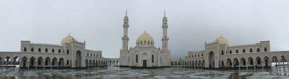 Mezquita blanca en Bolgar en Tartaristán fotografía de archivo