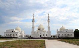 Mezquita blanca. Reser histórico y arquitectónico del estado búlgaro Fotos de archivo