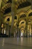 Mezquita Bogen stock afbeeldingen