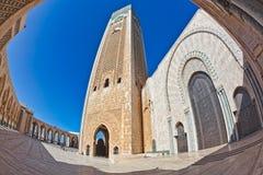 Mezquita Casablanca de Hassan II Foto de archivo libre de regalías