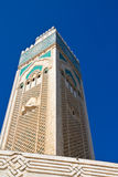 Mezquita Casablanca de Hassan II Imágenes de archivo libres de regalías