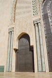 Mezquita Casablanca de Hassan II imagen de archivo