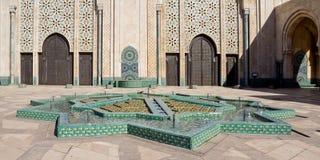 Mezquita Casablanca de Hassan II Fotos de archivo