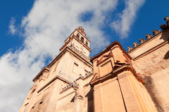 Mezquita, Cathedral bell tower, Cordoba, Cordoba Province, Andal Royalty Free Stock Photos