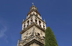 Mezquita Cathedral of Cordoba on a bright sunny day Royalty Free Stock Photography