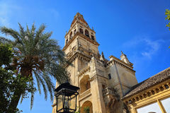 Mezquita Cathedral of Cordoba on a bright sunny day Stock Photo