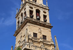Mezquita Cathedral of Cordoba on a bright sunny day Stock Photography