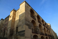 Mezquita Cathedral of Cordoba on a bright sunny day Stock Image