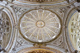 Mezquita Cathedral Dome Ceiling Stock Image