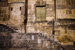 Mezquita Cathedral in Old Town of Cordoba Royalty Free Stock Photography