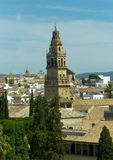 Mezquita Cathedral tower Stock Photography