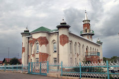 Mezquita central en Bugul'ma Imagenes de archivo