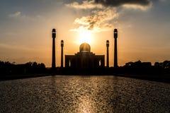 Mezquita central, provincia de Songkhla, meridional de Tailandia foto de archivo libre de regalías