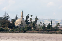 Mezquita Chipre de Tekke del sultán de Hala Imágenes de archivo libres de regalías