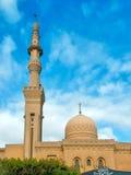 Mezquita con el alminar Fotos de archivo