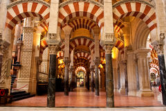 Mezquita of Cordoba Stock Photography