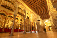 Mezquita of Cordoba. The interior of Mezquita in Cordoba, Spain Stock Images