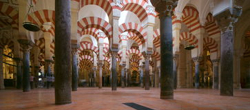 Mezquita in Cordoba, Spain Royalty Free Stock Photo