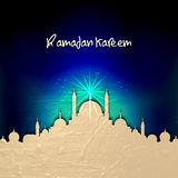 Mezquita creativa para Ramadan Kareem Foto de archivo