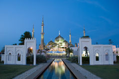 Mezquita cristalina Imagen de archivo libre de regalías
