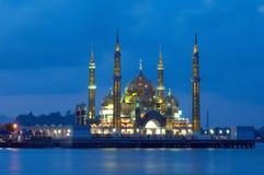 Mezquita cristalina fotografía de archivo