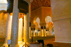 Mezquita de Abu Dhabi Sheikh Zayed Grand Fotos de archivo