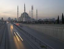 Mezquita de Adana fotografía de archivo libre de regalías