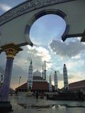 Mezquita de Agung Imagen de archivo