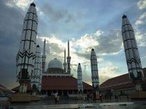 Mezquita de Agung Imagen de archivo libre de regalías
