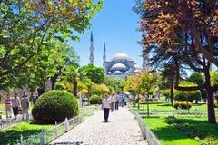 Mezquita de Ahmed del sultán imágenes de archivo libres de regalías