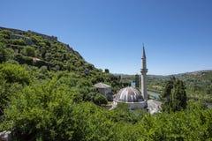 Mezquita de Ajji Alija, en itelj del  de PoÄ: construido en 1563 por el hajji-Alija imagen de archivo libre de regalías