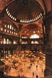 Mezquita de Ayasohya (Hagia Sophia, Estambul) Imagen de archivo libre de regalías