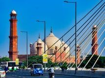 Mezquita de Badshahi fotos de archivo libres de regalías