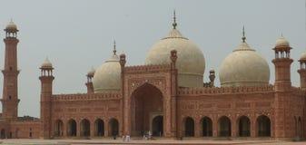 Mezquita de Badshahi fotos de archivo