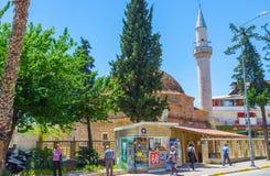 Mezquita de Balibey en Antalya Imagenes de archivo
