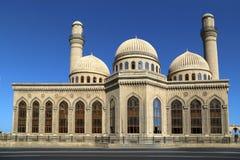 Mezquita de Bibi-Heybat en Baku imagen de archivo