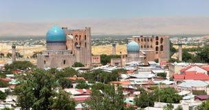 Mezquita de Bibi-Khanym de Registan - Samarkand Fotos de archivo