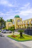 Mezquita de centro islámica en Mataram foto de archivo libre de regalías