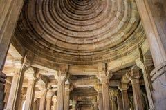 Mezquita de Champaner en Gujarat, la India Imagen de archivo libre de regalías