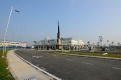 Mezquita de Cyberjaya del platino del verde de GBI en Cyberjaya, Malasia foto de archivo libre de regalías