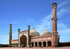 Mezquita de Delhi Foto de archivo