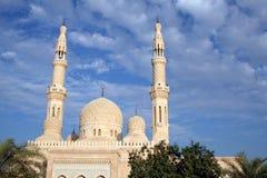 Mezquita de Dubai Foto de archivo libre de regalías