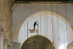 Mezquita de Emevi en Alepo foto de archivo