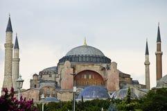 Mezquita de Hagia Sofía en Estambul Imagen de archivo libre de regalías