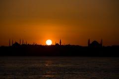 Mezquita de Hagia Sophia Foto de archivo